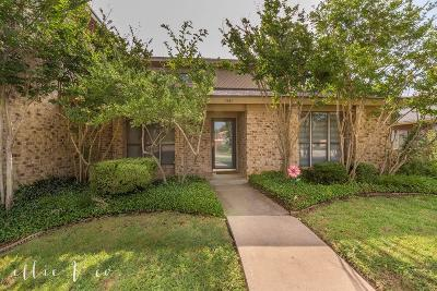 Abilene Single Family Home Active Option Contract: 1541 Creek Bend Court