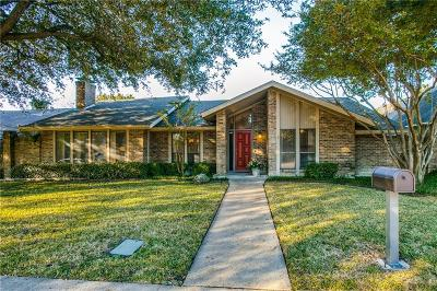 Dallas Single Family Home Active Option Contract: 11138 Ferndale Road
