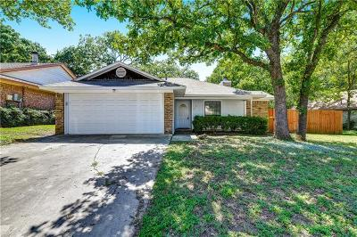 Denton Single Family Home Active Option Contract: 1413 Briarwood Street