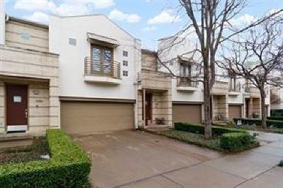 Dallas Townhouse For Sale: 4318 Gilbert Avenue