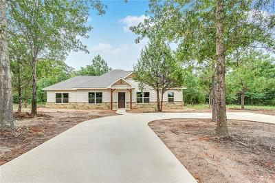 Canton TX Single Family Home For Sale: $260,000