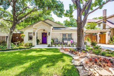 Fort Worth Single Family Home Active Option Contract: 2415 Wabash Avenue