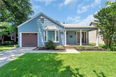 Arlington Heights Single Family Home For Sale: 3934 Birchman Avenue