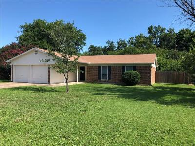 Benbrook Single Family Home For Sale: 1205 Trammell Drive