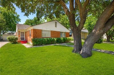 Dallas County Half Duplex Active Option Contract: 3523 N Versailles