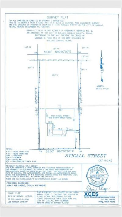 Dallas County Single Family Home For Sale: 4427 Stigall Drive