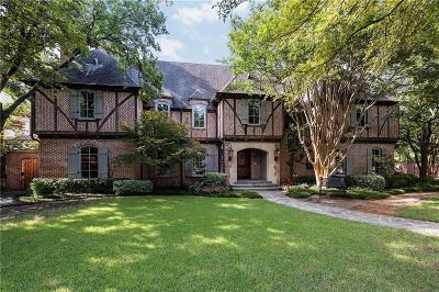 Dallas County Single Family Home For Sale: 6202 Mimosa Lane