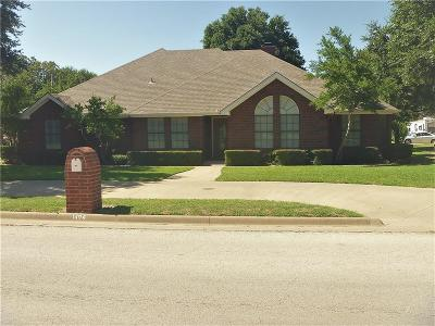 Young County Single Family Home Active Contingent: 1404 Roanoake Drive