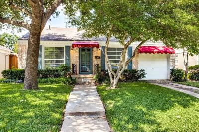 Highland Park Single Family Home For Sale: 4659 Westside Drive