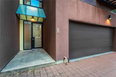 Dallas County Townhouse For Sale: 4143 Buena Vista Street #B