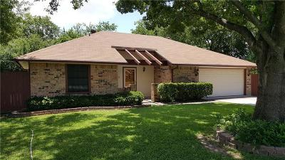 Benbrook Single Family Home Active Option Contract: 1536 Augusta Road
