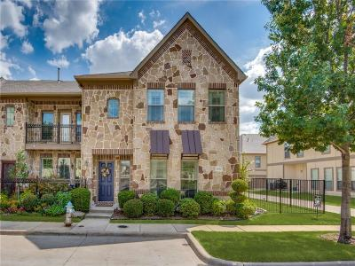 McKinney Townhouse For Sale: 8645 Trolley Trail