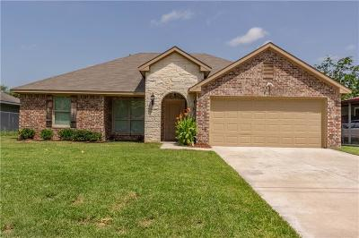 Kaufman Single Family Home For Sale: 1000 Melody Circle