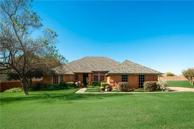 Fort Worth Single Family Home For Sale: 8841 Hidden Hill Drive