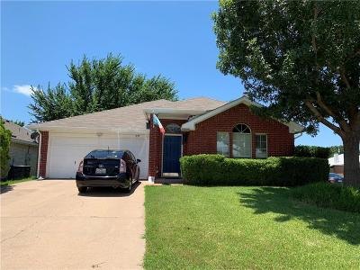 Grand Prairie Single Family Home For Sale: 3139 Windermere Lane