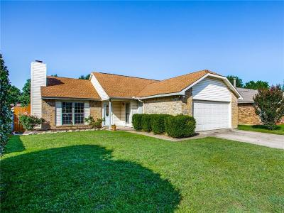 Fort Worth Single Family Home Active Option Contract: 4732 Scots Briar Lane