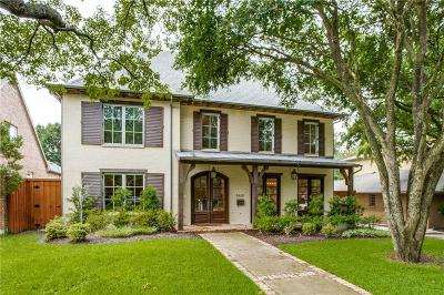 Dallas Single Family Home For Sale: 7432 Wentwood Drive