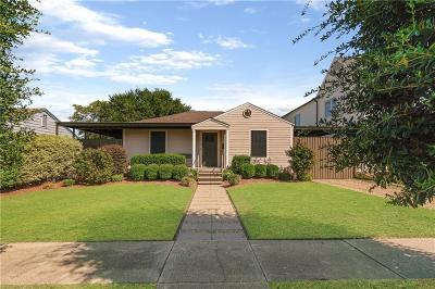 Single Family Home For Sale: 4615 Cowan Avenue