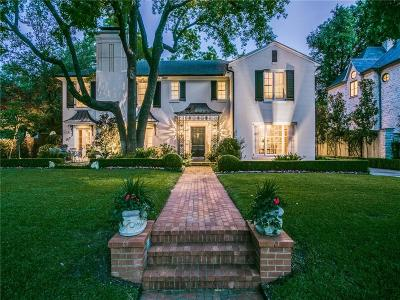 Dallas County Single Family Home For Sale: 4425 Rheims Place