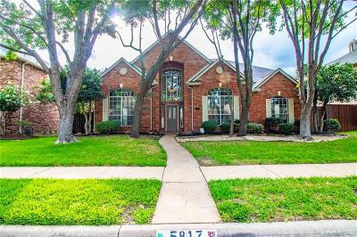 Frisco Single Family Home For Sale: 5817 Lafayette Drive