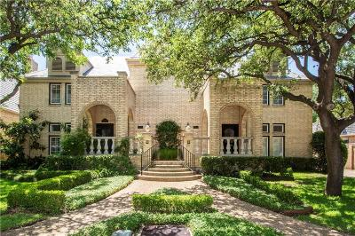 Dallas Townhouse For Sale: 12025 De Or Drive