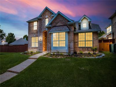 Frisco Single Family Home Active Contingent: 2102 Fox Crossing Lane