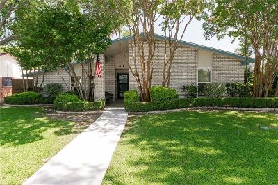 Coppell Single Family Home Active Kick Out: 511 Woodhurst Drive