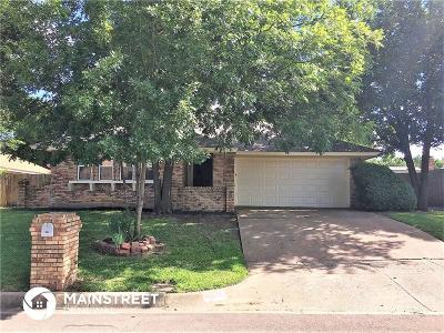 Fort Worth Residential Lease For Lease: 4621 Ringold Drive