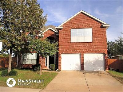 Fort Worth Residential Lease For Lease: 7501 Meadow Creek Drive
