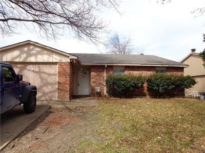Allen Single Family Home Active Contingent: 545 Oldbridge Drive