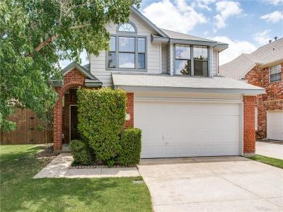 Coppell Single Family Home Active Option Contract: 610 Saint Andrews Place