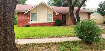 Grand Prairie Single Family Home Active Option Contract: 3522 S Edelweiss Drive