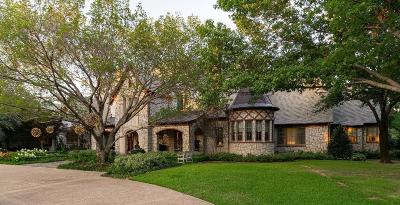 Colleyville TX Single Family Home For Sale: $3,995,000