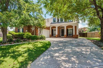 Frisco Single Family Home Active Contingent: 4904 Lakeland Drive