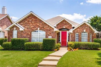 The Colony Single Family Home Active Option Contract: 5741 Green Hollow Lane