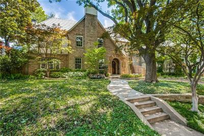 Dallas County Single Family Home For Sale: 3605 Princeton Avenue