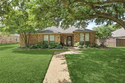 Plano Single Family Home Active Option Contract: 3617 Campstone Drive