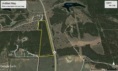 Mineral Wells Farm & Ranch For Sale: 0000b State Hwy 337
