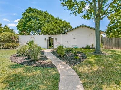 Lake Highlands Single Family Home Active Contingent: 9012 Flicker Lane