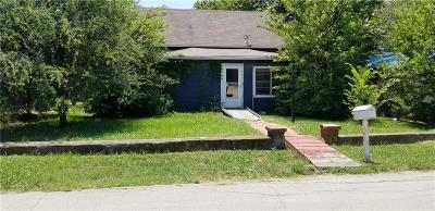 Alvarado Single Family Home For Sale: 203 W Purdom Avenue
