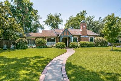 Single Family Home For Sale: 6834 Lakeshore Drive