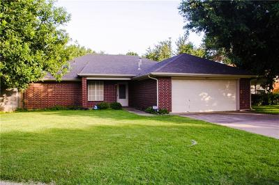 Burleson Single Family Home Active Contingent: 821 Glenwick Court