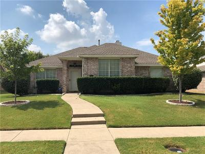 Frisco Single Family Home Active Option Contract: 7811 Kristina Drive