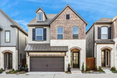 Dallas Townhouse For Sale: 7077 Mistflower Lane