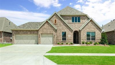 Little Elm Single Family Home For Sale: 813 Boardwalk Way