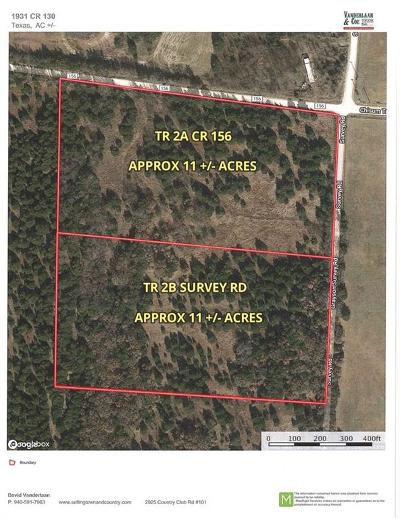 Cooke County Residential Lots & Land For Sale: Tr 2a County Road 156