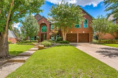 Grapevine Single Family Home Active Option Contract: 4157 Hallmont Drive