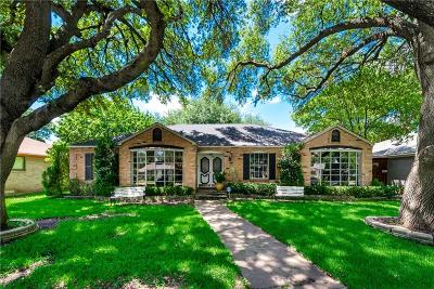 Dallas Single Family Home For Sale: 6911 Redstart Lane