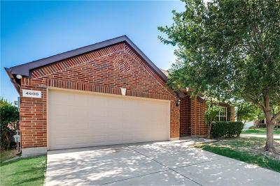 Fort Worth Single Family Home For Sale: 4600 Daisy Leaf Drive