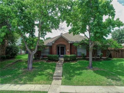 Plano Single Family Home Active Option Contract: 3829 Parkmont Drive